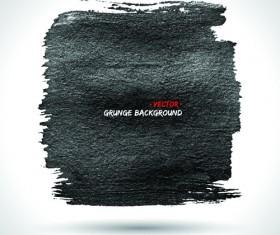 Vector Black Grunge backgrounds 05