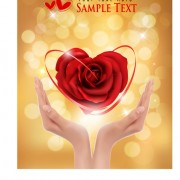 Link toHalation valentine vector background 01