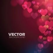 Link toDifferent heart background art vector 01