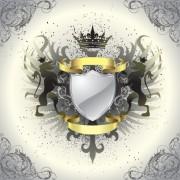 Link toVintage royal labels design vector graphics 01