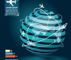 Vector Business Infographic design elements 01