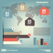 Link toVector business infographic design elements 05