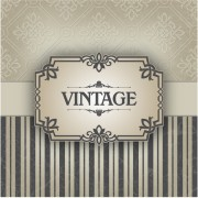 Link toLace with vintage vector backgrounds 03