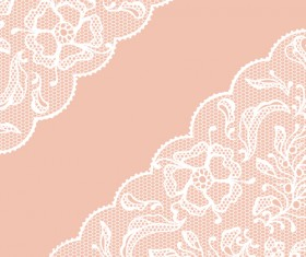 Vector Old lace background art 04