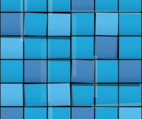 Vector Seamless pattern with squares graphic 01
