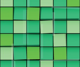 Vector Seamless pattern with squares graphic 02