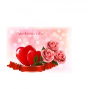 Link toValentine day elements vector cards 03