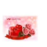Link toValentine day elements vector cards 10