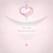 Link toRomantic wedding backgrounds vector material 01