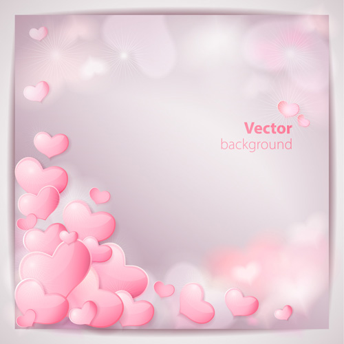 Romantic Wedding Backgrounds vector material 03 - Vector Background ...