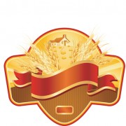 Link toSet of wheat vector lables 05