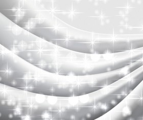 White Silk Fabric Backgrounds vector 01