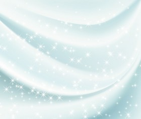White Silk Fabric Backgrounds vector 02