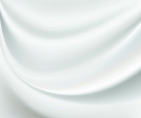 White Silk Fabric Backgrounds vector 06