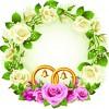 Flowers Wreath design vector 03