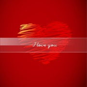 Link toBackground and romantic hearts vector graphics 04