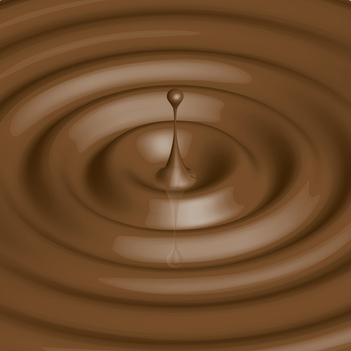 Background Image Chocolate Chocolate Drops Background