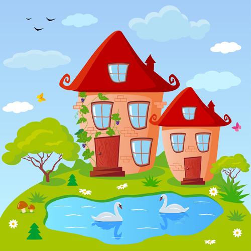 free clip art lake house - photo #30