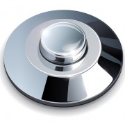Link toShiny metal button elements vector 01
