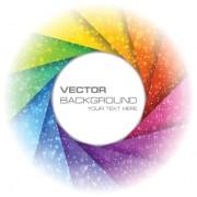 Link toRainbow swirls vector backgrounds vector 03
