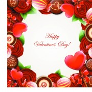 Link toValentine day sweets cards vector 01