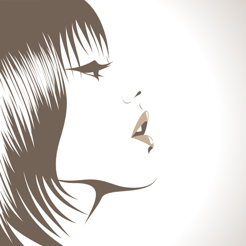 Hairstyle Vector : Hairstyle Vector Free Download