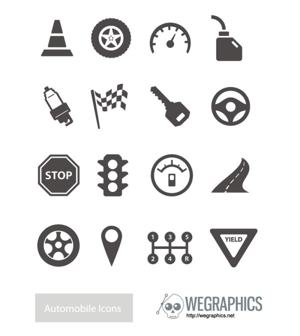 Traffic Icon Vector Traffic Elements Vector Icons