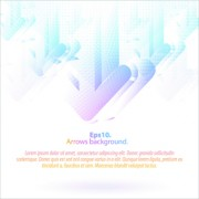 Link toPastel colors background with arrows vector 01