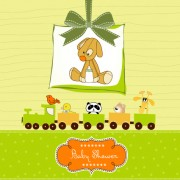 Link toCute baby vector backgrounds set 01