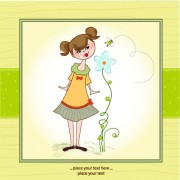 Link toCute baby vector backgrounds set 03