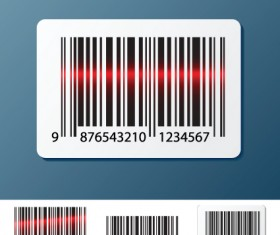 Vector Barcode design art 01