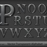 Link toBlack transparent alphabet vector 02