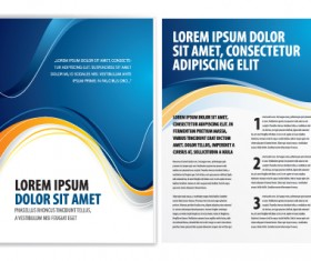 Commonly Business brochure cover design vector 01