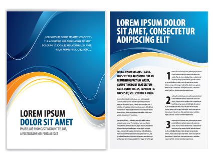 Commonly Business Brochure Cover Design Vector   Vector Business