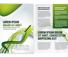 Commonly Business brochure cover design vector 02