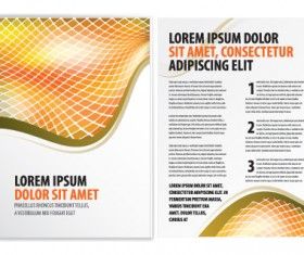 Commonly Business brochure cover design vector 03