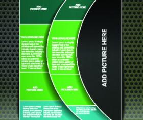 Business brochure cover design elements 02