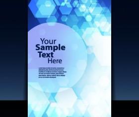 Business brochure cover design elements 03