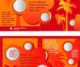 Cover of Business brochure and flyer vector 01