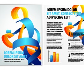 Cover of Business brochure and flyer vector 02