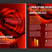 Link toCover of business brochure and flyer vector 03