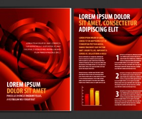 Cover of Business brochure and flyer vector 03