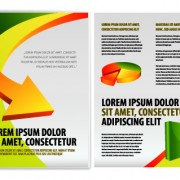 Link toCover of business brochure and flyer vector 04