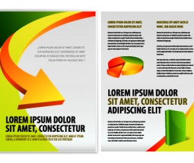 Cover of Business brochure and flyer vector 04