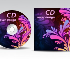 Floral of CD cover design elements 02