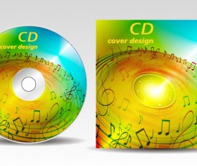 Floral of CD cover design elements 03