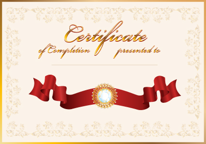 Vector certificate template design art 01 vector cover free download vector certificate template design art 01 yelopaper Gallery