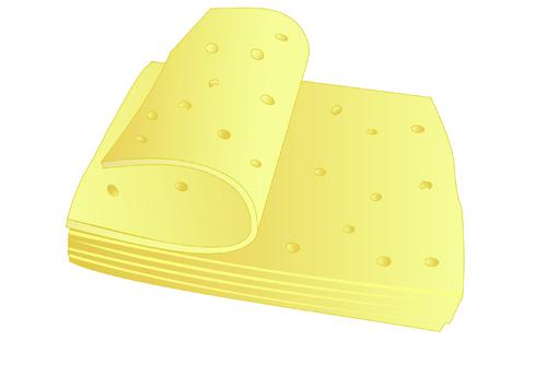 Vector Cheese Design Elements 01