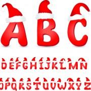Link toChristmas alphabet vector illustration 02