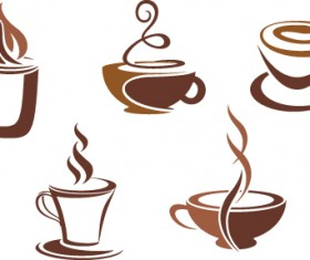 Vector Coffee icons design elements 01